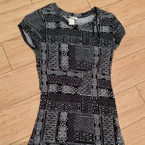 Mini printed dress